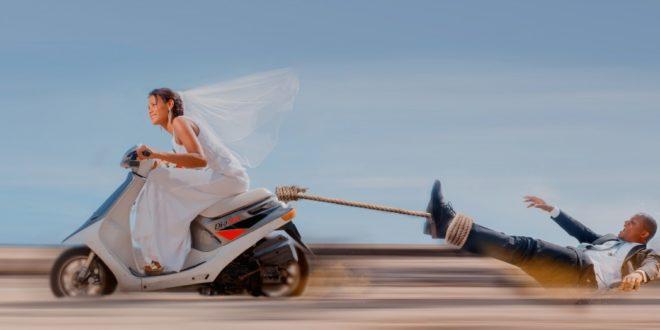 Idées pour un mariage motard